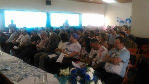 Público presente à cerimônia de posse