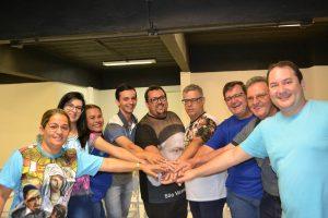 Equipe nacional do Denor com o confrade Cristian Reis (último da esq. p/ dir.)