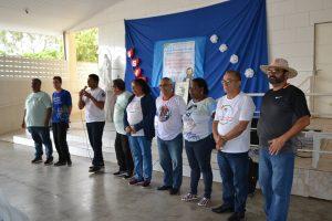 Equipe missionária que participa da atividade