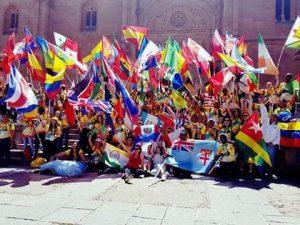 Participantes do evento na Espanha