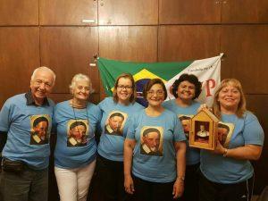 Membros da Conferência São José, no Rio de Janeiro (RJ)