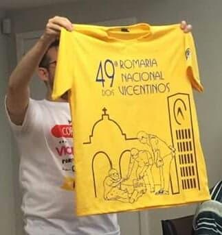 ddf7f7bb9d Venda de camisa da Romaria vai começar este ano
