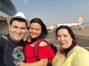 Ricardo Alessandro Nicoleti, Keith Aline Cercatti Valladar e Renata Cristina Mancini. Foto enviada pelo confrade Ricardo, membro da Conferência Senhor Bom Jesus, no Paraná