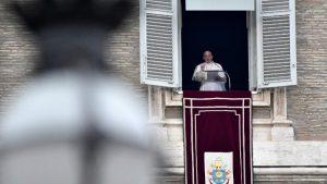 Papa durante Missa celebrada ontem