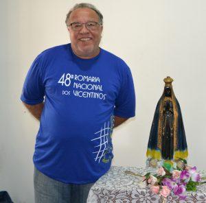 Confrade Valter Araújo, tesoureiro do CNB