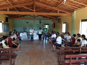 Formação de vicentinos em Manaíra